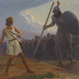 bringing down Goliath